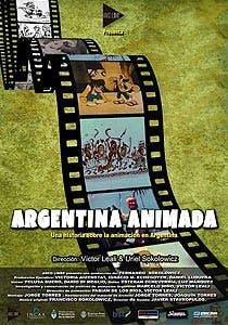 Afiche de Argentina animada