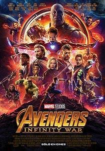 Afiche de Avengers: Infinity War 3D