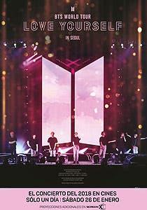 Afiche de BTS World Tour: Love Yourself in Seoul