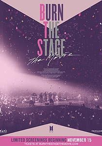 Afiche de Burn the stage: La película