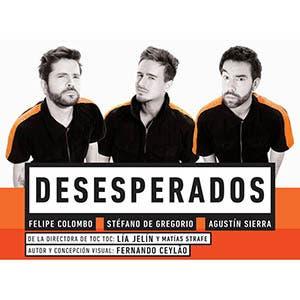 Afiche de Desesperados