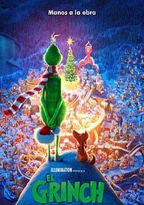Afiche de El Grinch 3D