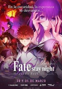 Afiche de Fate: Stay Night Heaven`s Feel Parte 2