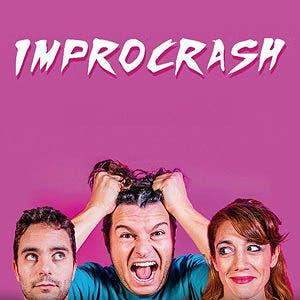 Afiche de Improcrash a todo ritmo ATR