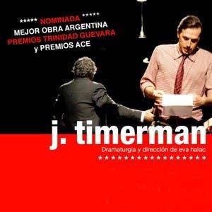 Afiche de J. Timerman