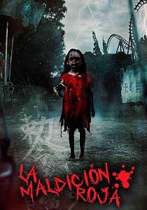 Afiche de La maldición roja