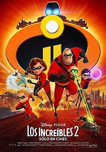 Afiche de Los increíbles 2 3D
