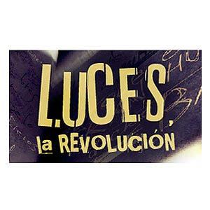 Afiche de Luces, la revolución