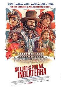 Afiche de No llores por mí Inglaterra