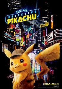 Afiche de Pokémon: Detective Pikachu 3D