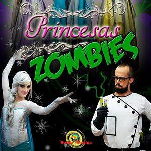 Afiche de Princesas zombies