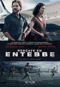 Afiche de Rescate en Entebbe